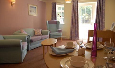 Care suite at Hazeldene House